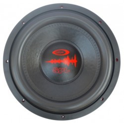 """Subwoofer 15"""" specially designed for competition SPL, 2.000 w rms/7.000 w max - Type 3"""