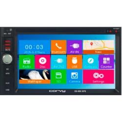 Radio Navegador doble din con pantalla táctil de 6,2, GPS, Bluetooth