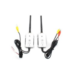 Transmissor e receptor de vídeo wireless para caminhões e ônibus
