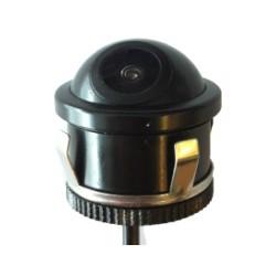 Mini câmera universal de marcha-atrás alta definição e lente ajustável em inclinação, conector RCA - Tipo 8
