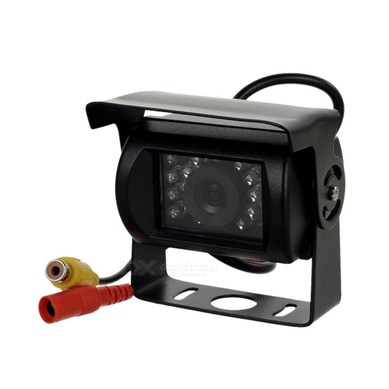 Câmera universal de marcha-atrás estanque com visão noturna, conector RCA - Tipo 1