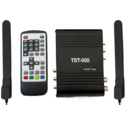 Digital-tuner HD-fahrzeug mit diversity-system