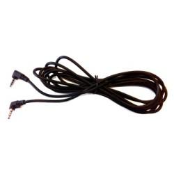 Cable de audio y vídeo para conectar dos monitores a través de conexión jack. Longitud de 3 metros.