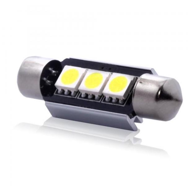 Ampoule à LED 24 Volts c5w CANBUS / feston de TYPE 74