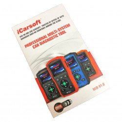 Machine diagnosis of Mercedes Benz and Smart ICARSOFT i980