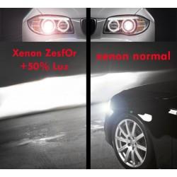 Pareja bombillas Xenon D2R 4300k, + 50% luz ZesfOr®