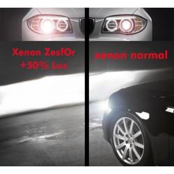 Pareja bombillas Xenon D2S 6000k, +50% luz ZesfOr®