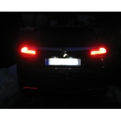 led matricula lexus ct 200h