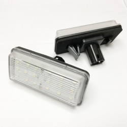 led-kennzeichenhalter lexus LX570