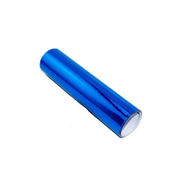 Vinil Cromado Azul adesivo
