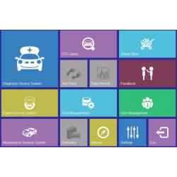 Diiagnosis OBD2 multi-marca in spagnolo per Windows Xp, Vista, 7 e 10