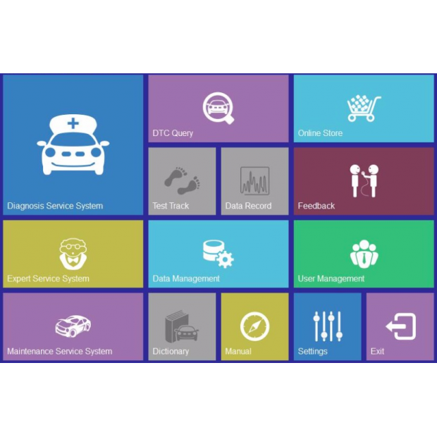 Diiagnosis OBD2 multi-marque en espagnol pour Windows Xp, Vista, 7, et 10