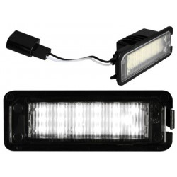Painéis LED de matrícula Volkswagen Golf VI (2008-2012)