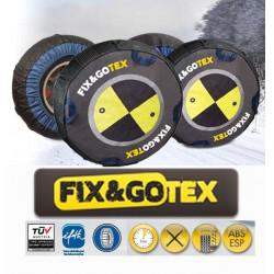 Cadenas de nieve textiles FIX&GO TEX - talla F