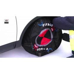 Schneeketten textile FIX&GO TEX - größe G