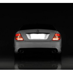 Plafones LED de matrícula Mercedes-Benz Clase GLA W156 (2013 en adelante)