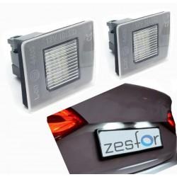 Plafones LED de matrícula Mercedes-Benz Clase SLK W172 (2012 en adelante)