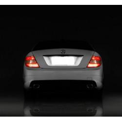 Plafones LED de matrícula Mercedes-Benz Clase GL X166 (2011 en adelante)