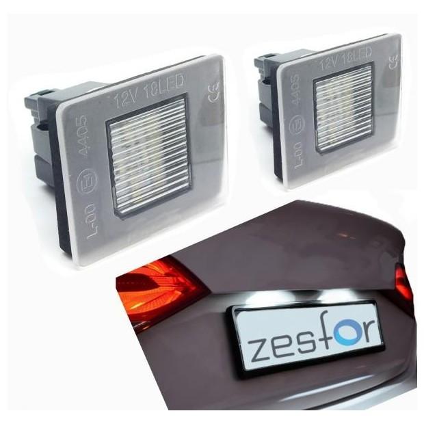 Plafones LED de matrícula Mercedes-Benz Clase CLA W117 (2012 en adelante)