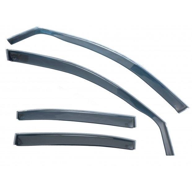 Kit derivabrisas Mercedes W204, Class C, 4 doors, year (08-)