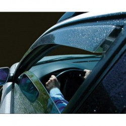 Kit derivabrisas Mercedes W204, Class C, 4 puertas, año (08-)
