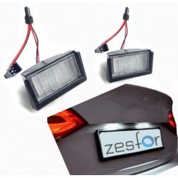 Plafones LED de matrícula Mercedes-Benz Clase GL X164 (2006-2012)