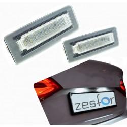 Plafones LED de matrícula Smart Fortwo