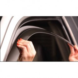Kit derivabrisas Peugeot Bipper, 2 puertas, año (09-)