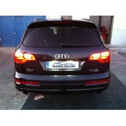 Plafones LED de matrícula Audi Q7 (2006-2012)
