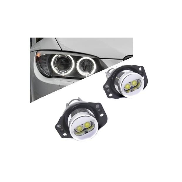 Kit augen von angel in LED 6W für BMW E90-E91 2005/2008 - Typ 3