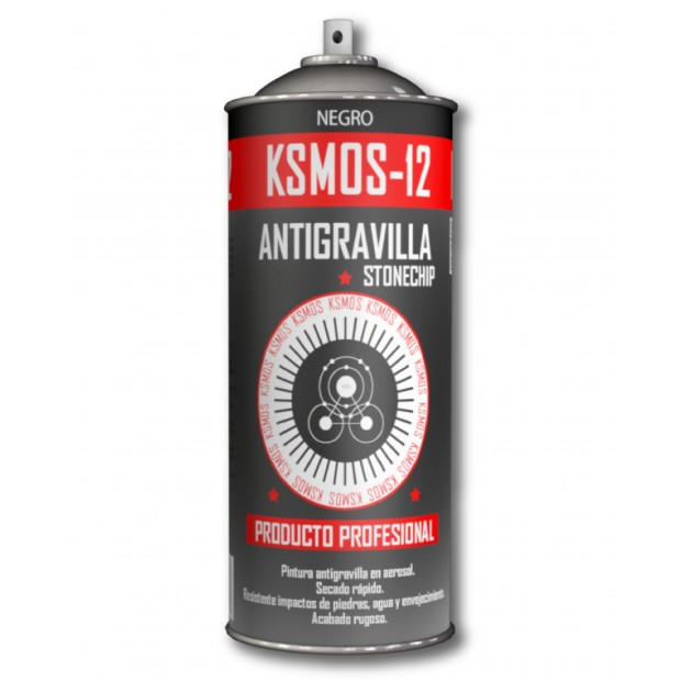 Spray antigravilla black or dark grey