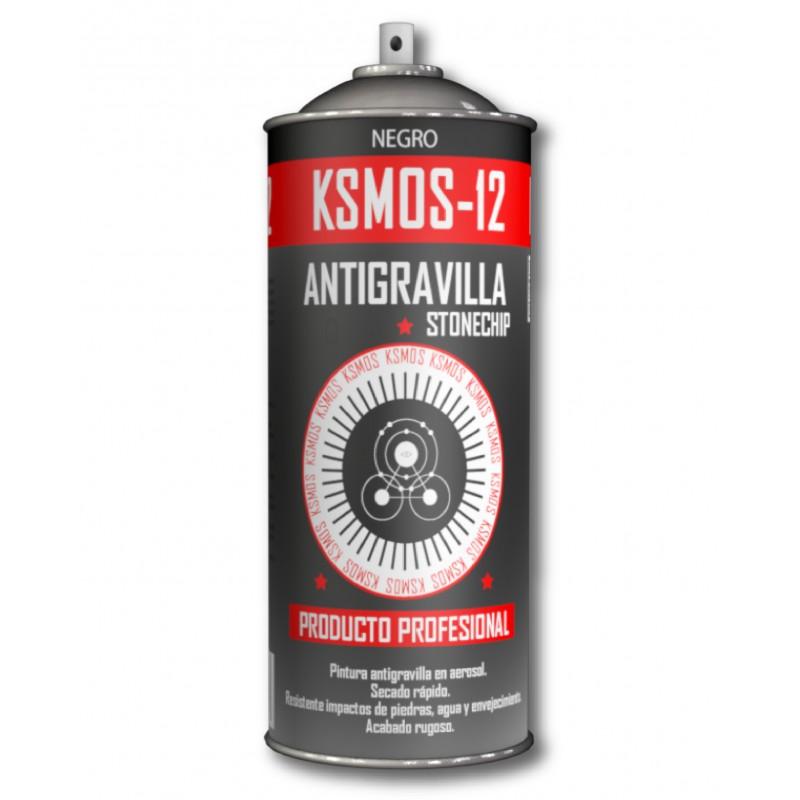 Spray antigravilla negro o gris oscuro
