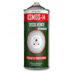 Spray de solvente de desvanecimento para unir dois esmaltes diferentes