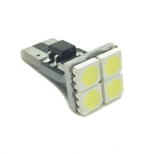 Bulbo claro do diodo EMISSOR de luz CANBUS frontal W5W / T10 H-Power - Tipo 46