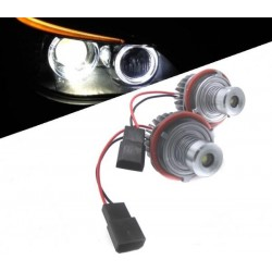 Kit ojos de angel en LED 10W para BMW 2000/2007 - Tipo 2