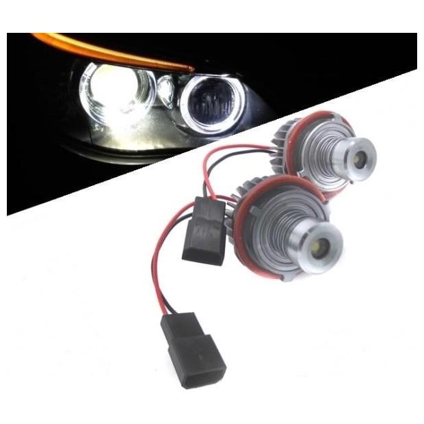 Kit ojos de angel en LED 10W para BMW 2000/2007 - Tipo 2