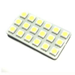 Piastra 18 LED smd punti - tipo 22