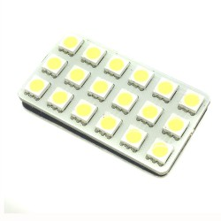 Plaque de 18 LED smd points - type 22