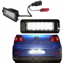 La retombée de plafond de LED inscription Volkswagen Golf V (2005-2008)
