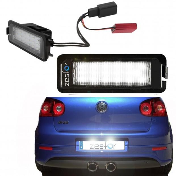 Painéis LED de matrícula Volkswagen Golf V (2005-2008)