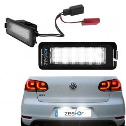 Wand-und deckenlampen, LED-kennzeichenbeleuchtung Volkswagen Golf VI (2008-2012)