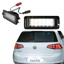 Painéis LED de matrícula Volkswagen Golf VII (2012-2017)