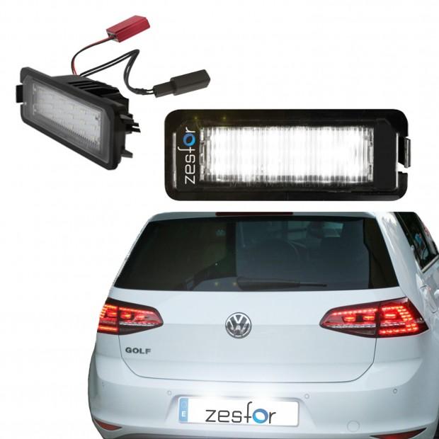 La retombée de plafond de LED inscription Volkswagen Golf VII (2012 à 2017)