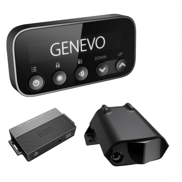 Detector de Radar Genevo Pro - Radares fijos, móviles, instalación oculta y configuración a medida