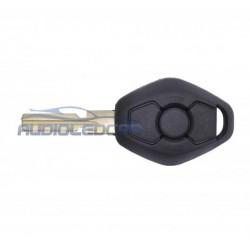 Capa para chave BMW 2000-2006 - Tipo 1 (E46 X3 X5 M3 M5 Série 3 5 7 320 325 335 525)