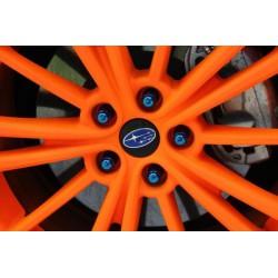 Paint tire: 4 spray ORANGE NEON