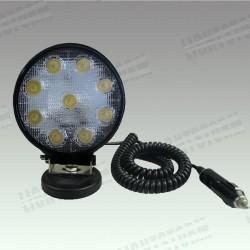 LED-strahler 27W + magnet für auto, lkw, quad oder motorrad