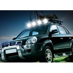 Projecteur à LED 27W + iman pour la voiture, camion, quad ou moto