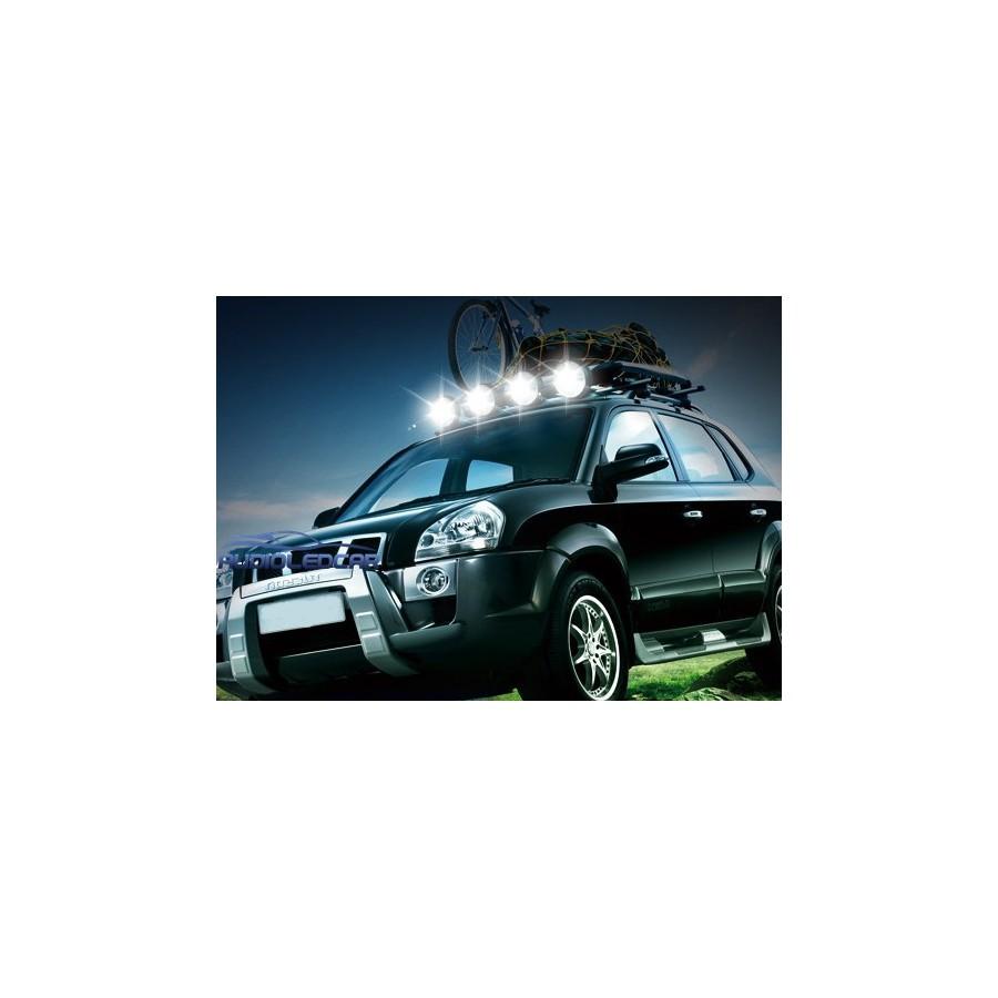 projecteur led 27w iman pour la voiture camion quad ou moto. Black Bedroom Furniture Sets. Home Design Ideas