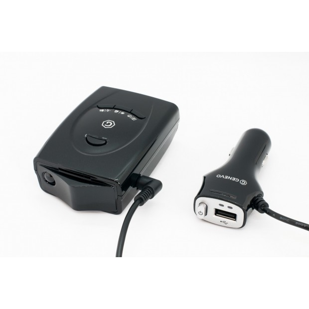 Cable cigarette lighter with USB for radar detectors Genevo